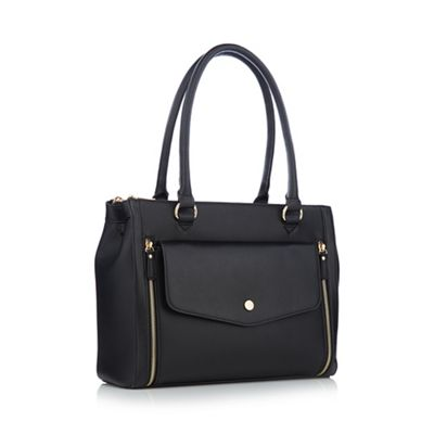 principles---black-grained-envelope-pocket-large-grab-bag by principles