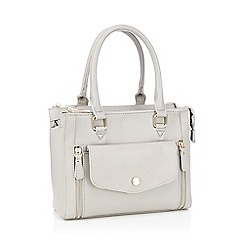 Principles - Grey multi compartment grab bag