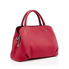 Principles - Red faux leather grab bag