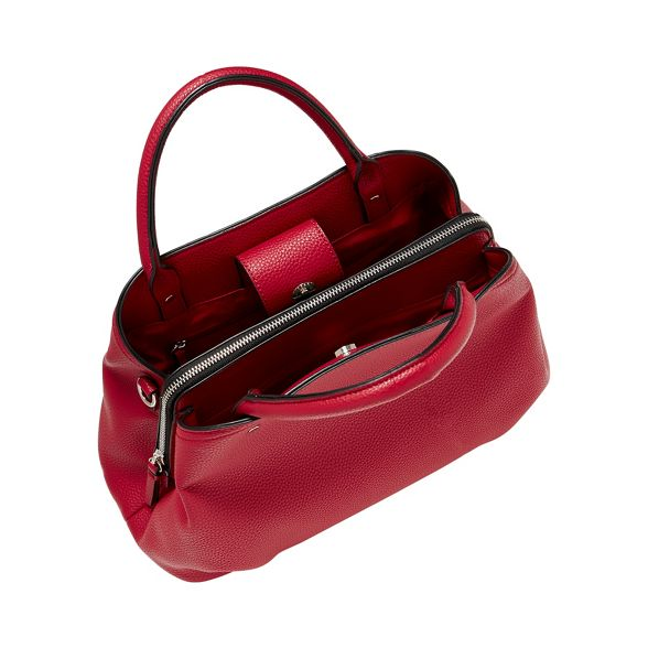 Principles faux grab Red leather bag AAqOwr8