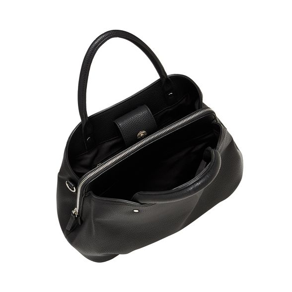 bag Principles Black faux leather grab 7IIrTP