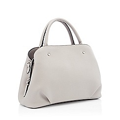 Principles - Grey faux leather grab bag