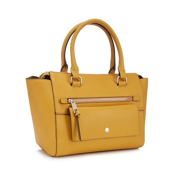 grab Principles bag zip detail Mustard YwYqtTFS