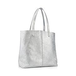 Principles Silver Glitter Leather Per Bag