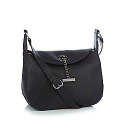 John Rocha Black Chain Bar Cross Body Bag