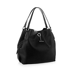 RJR.John Rocha - Black 'Hobo' chain bar bag