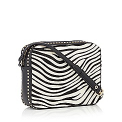 Nine by Savannah Miller - Multicoloured Zebra 'Evie' cross body bag