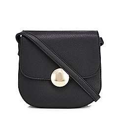 The Collection - Black circle detail cross body bag