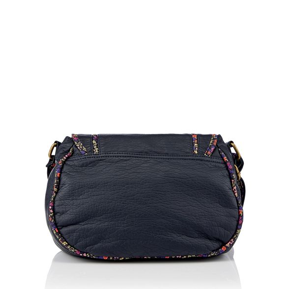 saddle floral Mantaray bag trim Navy qF5na5t