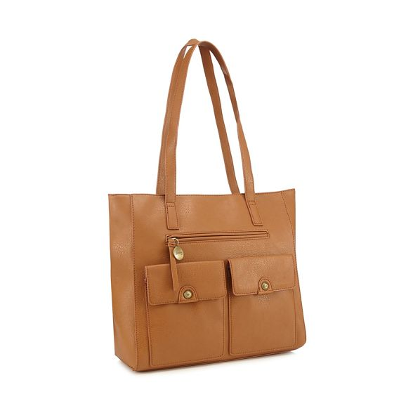 bag Mantaray Tan shopper pocket multi Y7dIxrwq7
