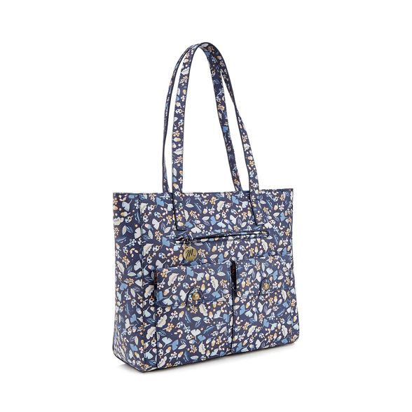 shopper pocket multi floral Mantaray Multicoloured print bag CB7Fq