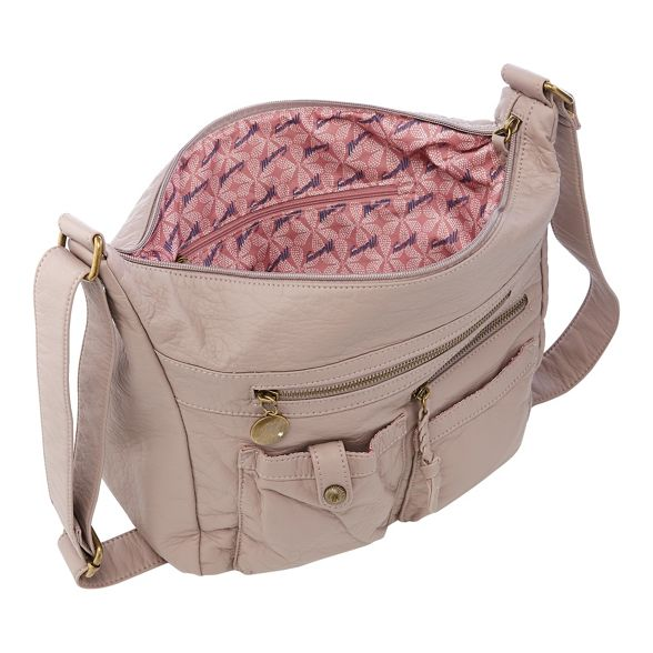 hobo bag multi Purple pocket Mantaray xa7O8tq