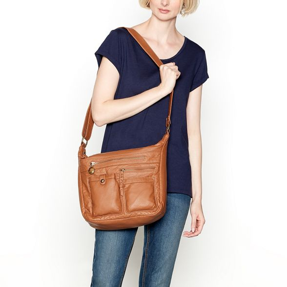 bag hobo multi Tan Mantaray pocket q8A4R
