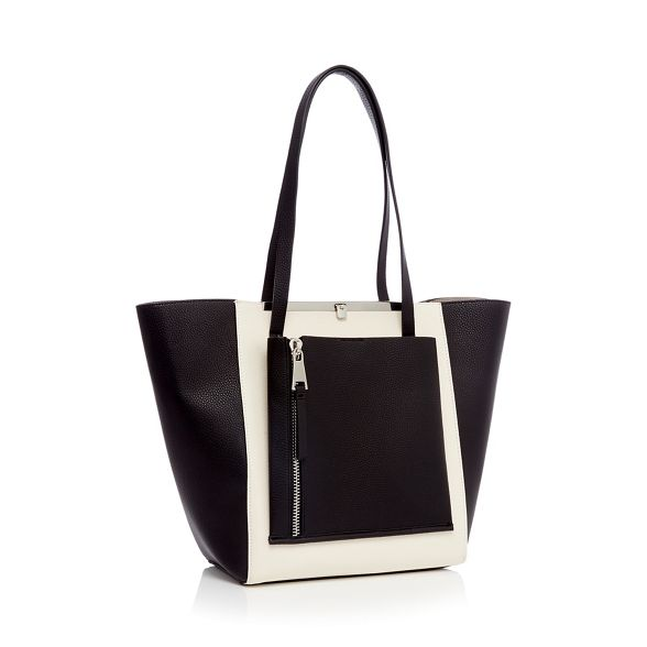 Faith Monochrome Faith Monochrome winged shopper Faith bag winged shopper bag Monochrome 5nAZqZTY