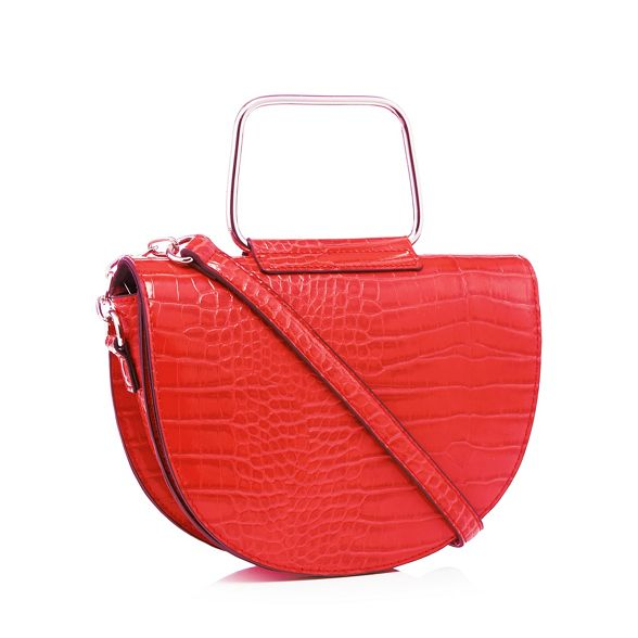 Faith bag effect saddle croc Red rgqBwrH7