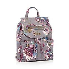 Mantaray - Multicoloured floral print backpack