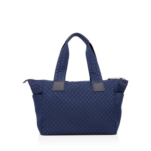 nylon Herring Red shopper Navy spot print bag H6Iqw0qdr