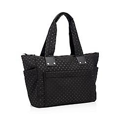 Red Herring Black Spot Print Nylon Per Bag