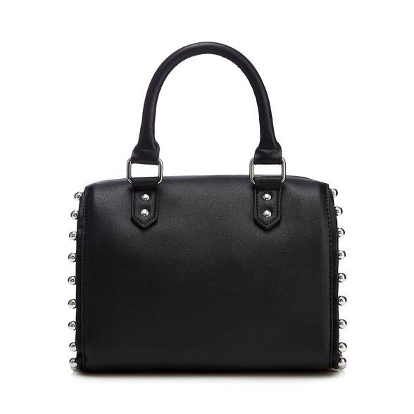 handbag Black stud trim Faith bowler vOwUqSO0n