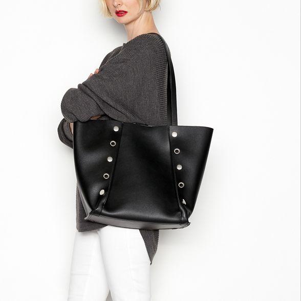 Faith Faith shopper Black bag Black studded studded rawrRzpx