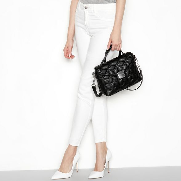 cross body Faith Black handbag quilted wTqwFXH