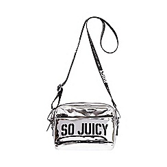 Juicy Couture - Silver 'Kira' crossbody bag
