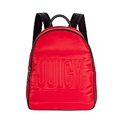 Juicy Couture - Red 'Aspen' backpack
