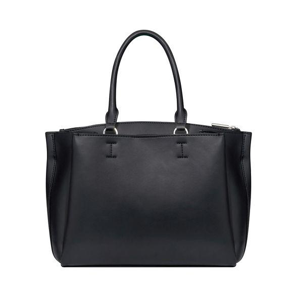 Fiorelli 'Alma' buckle Black tote bag front OSwRvCq