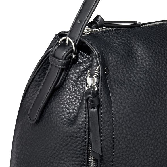 bag large 'Fleur' Fiorelli shoulder Black wIS4nqfz