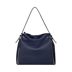 Fiorelli Navy Fleur Large Shoulder Bag