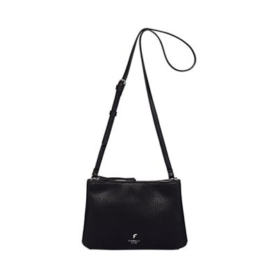 76c15c1bc9 Fiorelli - Black  Daisy  double zip crossbody bag