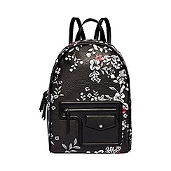Fiorelli - Multi-coloured floral print 'Avery' large backpack