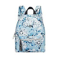 Fiorelli - Blue Floral Print 'Strike' Core Backpack