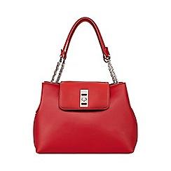 Fiorelli - Red 'Hallam' flapover shoulder bag