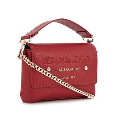 dd0b4e56d7 Versace Jeans Red Mini Cross Body Bag