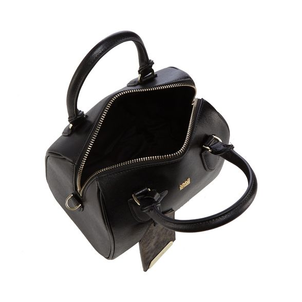bowler bag small Cavalli Black 'Leo' Class awqIq8Ax1g