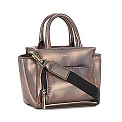 KENDALL + KYLIE - Metallic iridescent satchel bag