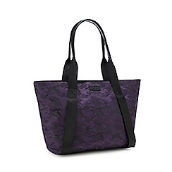392645a60c0 KENDALL + KYLIE - Purple camouflage print tote bag
