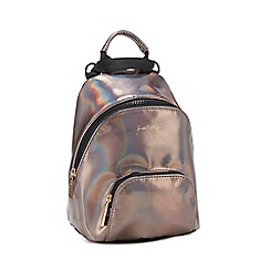 KENDALL + KYLIE - Metallic iridescent backpack