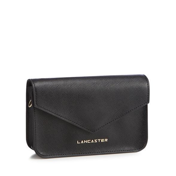 cross leather body Lancaster bag Black 'Saffiano' w1RxqgB