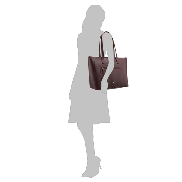 shopper leather Element Wine Foulonne' 'Pur Lancaster amp; bag x6HYw5Agqg