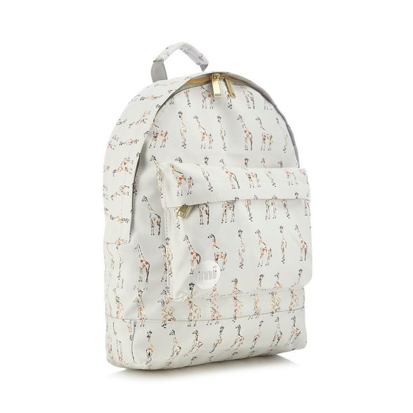 backpack White print Pac giraffe Mi RTq8O8