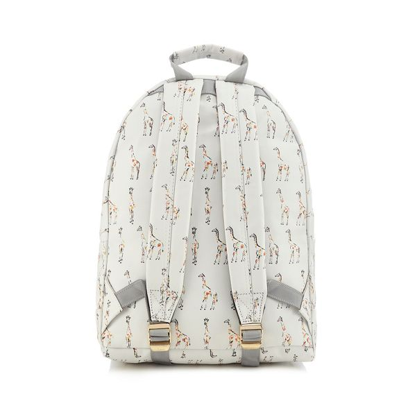 Mi Pac backpack print White giraffe 1wqr1F