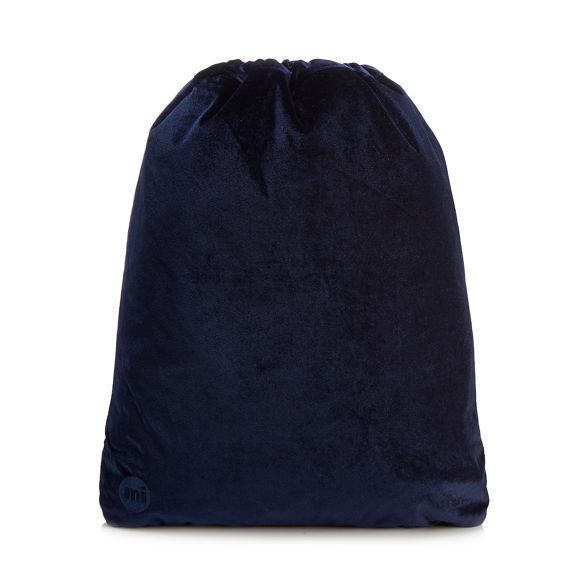 velvet drawstring Mi Blue Pac backpack aBH4Pwx