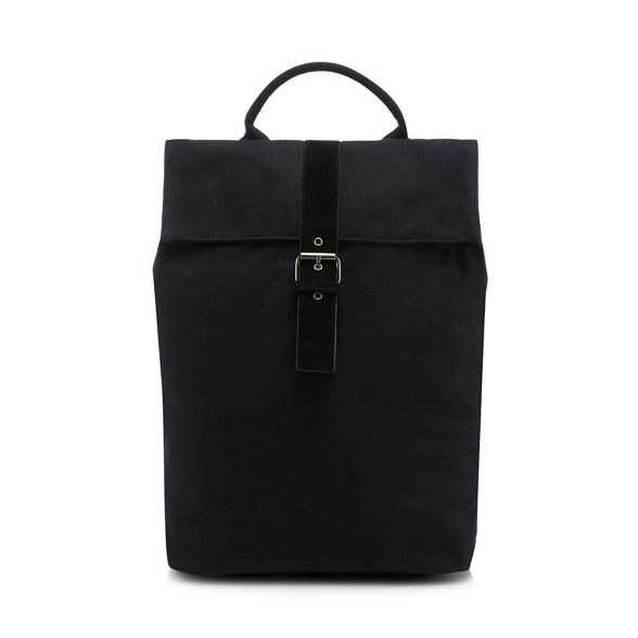 Mi 'Day Black canvas backpack Pack' Pac q60aqpWR
