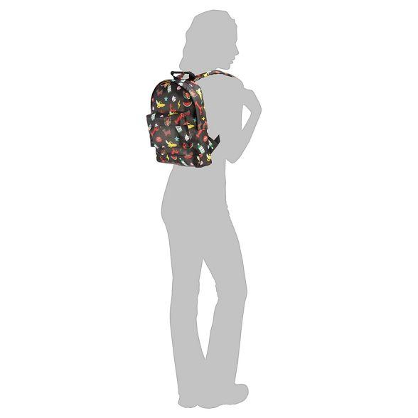 'Tatty Mi mini Devine' characters print Multicoloured Pac backpack RqEz7