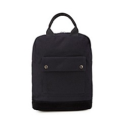 Mi-Pac - Black canvas backpack