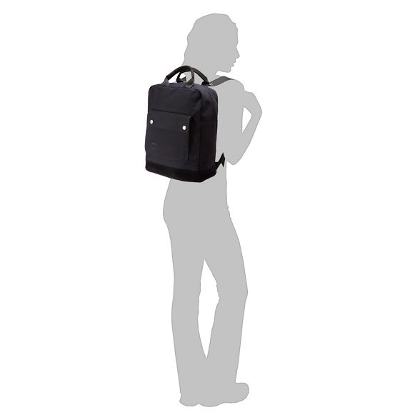 Mi backpack canvas Pac Pac canvas Mi Black Black backpack Ingx8zz