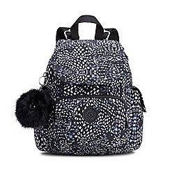 Kipling - Multi-coloured 'City Pack' mini backpack