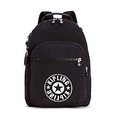 Kipling - Black 'Clas Seoul' large backpack